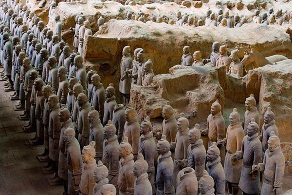 กองทัพทหารดินเผา (The Terracotta Warriors) @ www.chinadiscovery.com