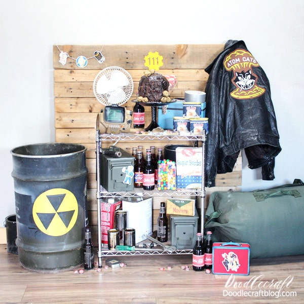 Everything you need to plan the most epic Fallout themed party. Which part do you like the best? Have you played Fallout before? Who is your favorite companion? Leave me all the comments about Fallout so we can geek-out together!