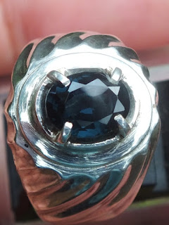 natural blue spinel