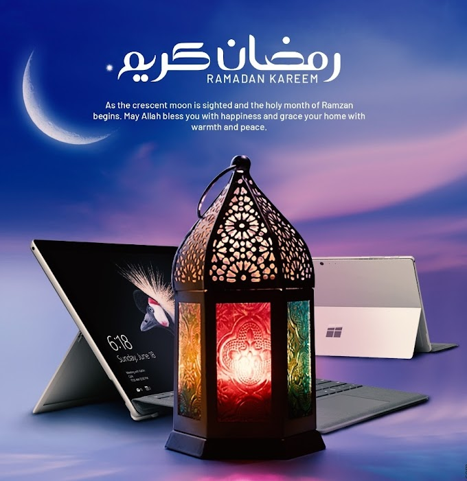 congratulation for Ramadan As fasting start on 13 April
