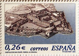 CASTILLO DE SAN FELIPE, FERROLA, A CORUÑA