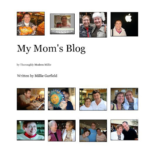 Printing My Mom's Blog as a Book Using Blog2Print and Amazon Createspace