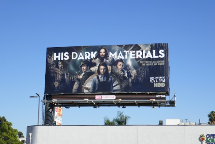 His Dark Materials HBO remake billboard