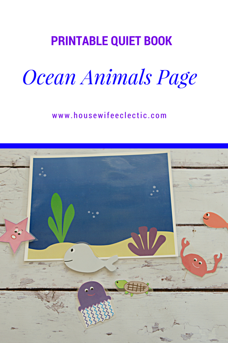 photograph regarding Ocean Printable identified as Printable Serene Reserve- Ocean Pets Site - Housewife Eclectic