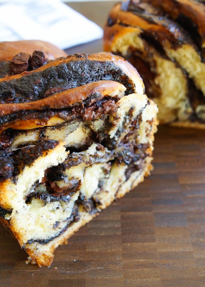 chocolate babka recipe, featured on The Pioneer Woman