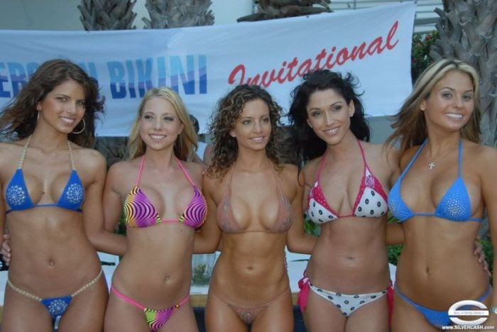 Bikini contest photos for 2007 only