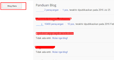 Cara Daftar Blog