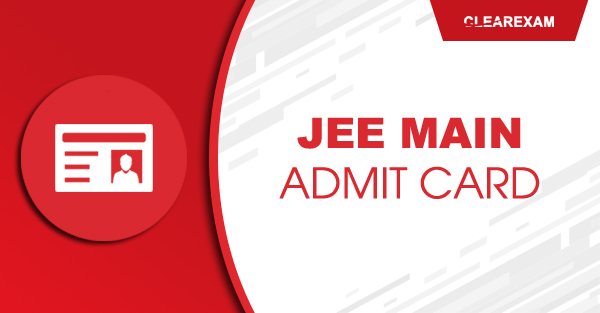 JEE Main Admit Card