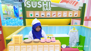 Sushi master is in the kidzoona