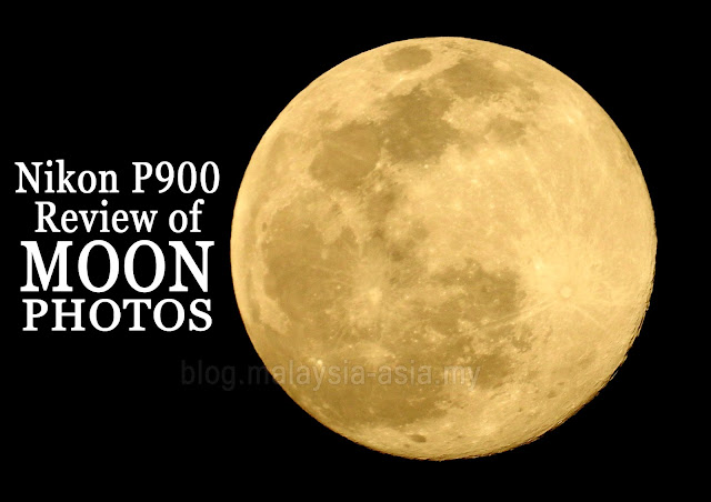 Moon Photos Nikon P900 Review