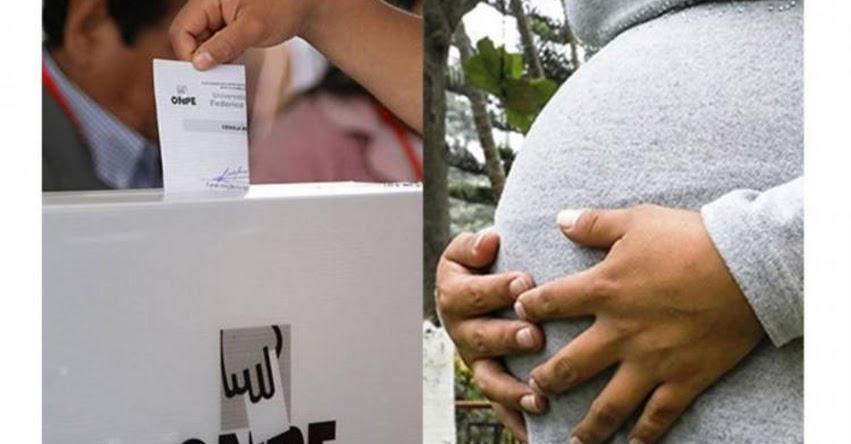 ELECCIONES GENERALES 2021: Embarazadas y lactantes no están obligadas a ser miembros de mesa (R. J. N° 000022-2021-JN/ONPE)