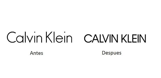 Calvin Klein ha presentado su nuevo Logo
