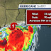 Barry se convierte en huracán de categoría 1.