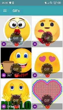 Cara membuat emoji bergerak di WhatsApp
