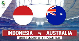 Timnas Indonesia vs Australia - Piala AFC U-16 Prediksi Susunan Pemain & Head to Head