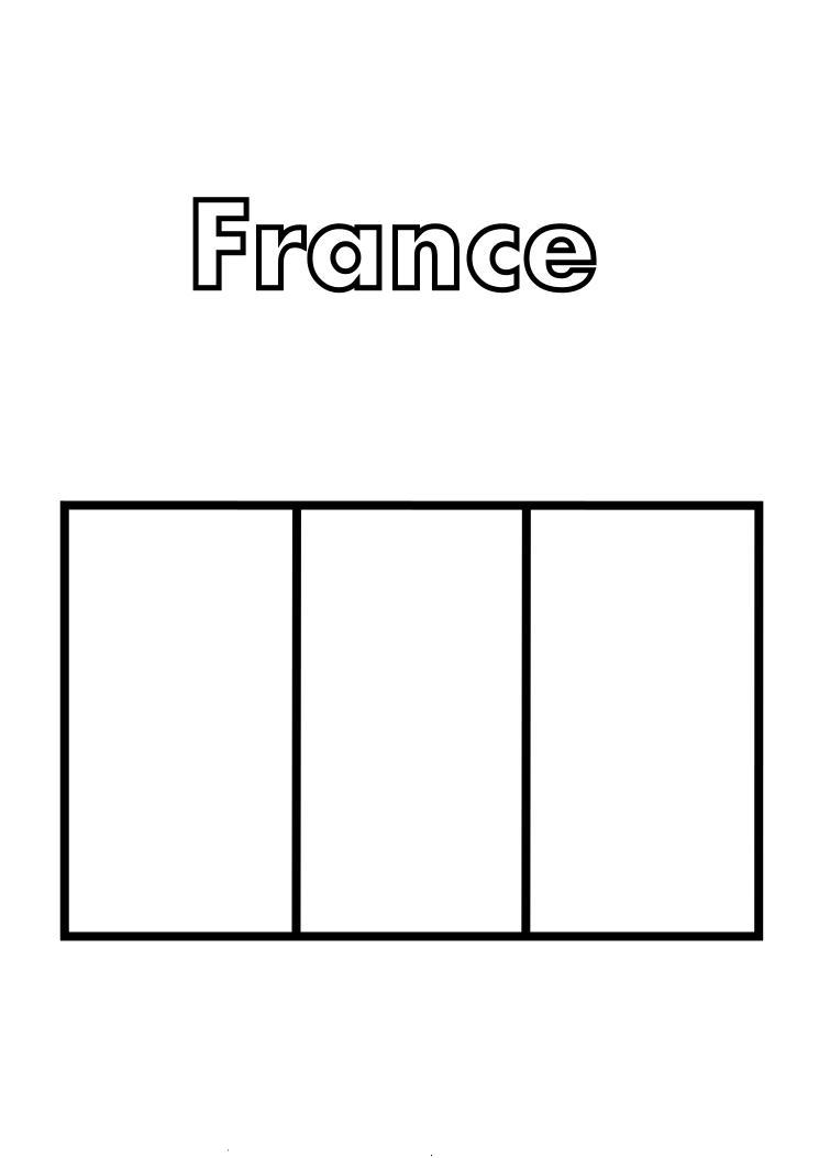 Dessins et coloriages 5 coloriages du drapeau de la france imprimer - Drapeau royaume uni a colorier ...