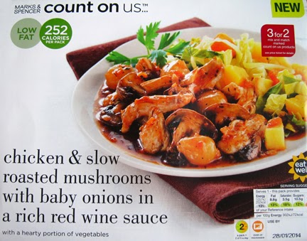 Count on Us Marks and Spencer ready meal packaging