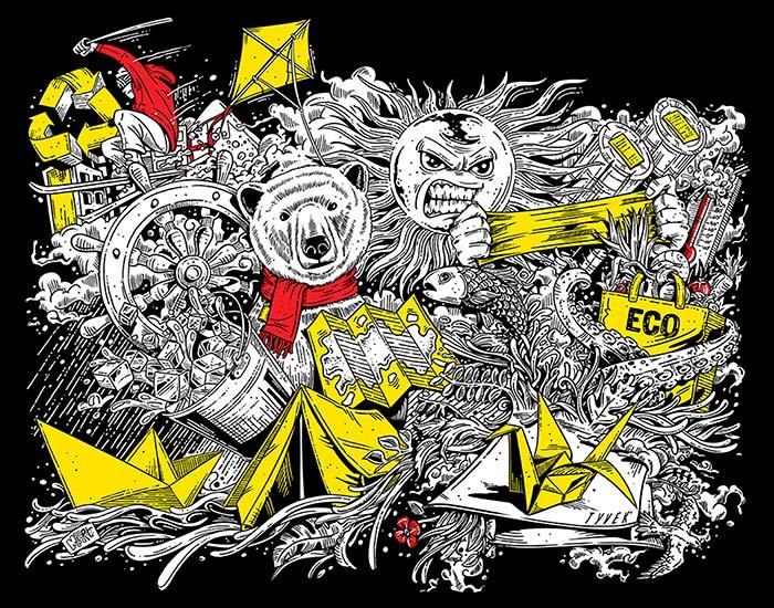 Ilustración de Marcelo Anache