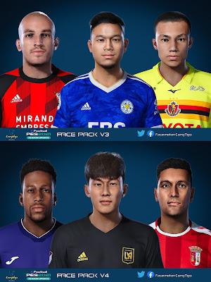 PES 2021 FacePack V3 & V4 by CongNgo