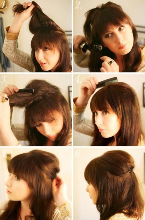 Peinados Faciles Para Cabello Corto Para Fiesta Elainacortez