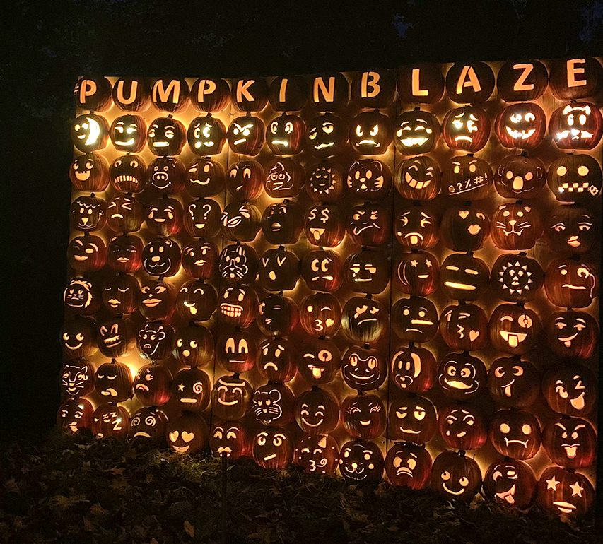 The Great Jack O'Lantern Maze in New York