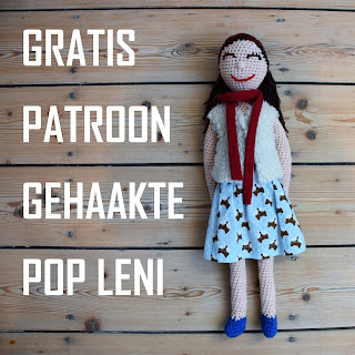 gratis patroon gehaakte pop Leni