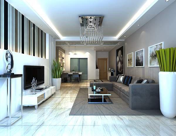 Living room 3d model free 3ds max