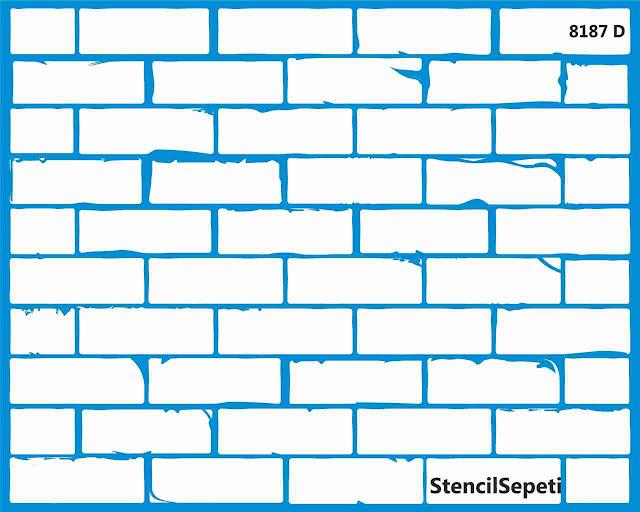 Трафарет для стен под камень Симферополь