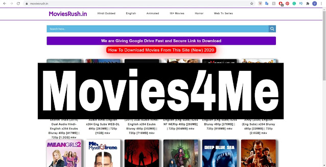 Movie4Me 2020 - HD Hollywood, Bollywood Movie4Me Movies Download Website, Latest Movies Download