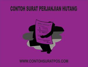 Gambar untuk Contoh Surat Perjanjian Hutang Dengan Jaminan