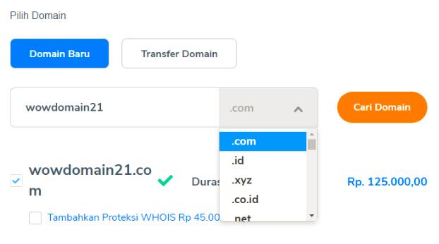 Cara Membeli Domain Website di Niagahoster