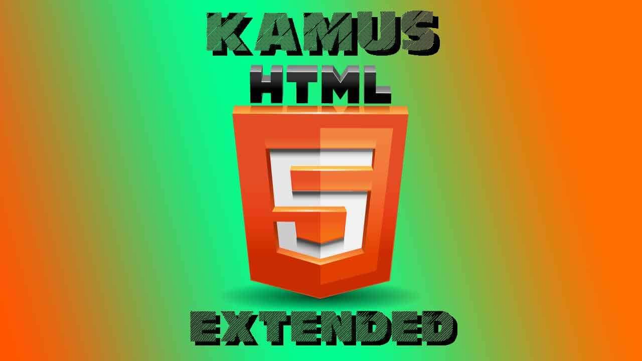 Kamus HTML 5 - Extended