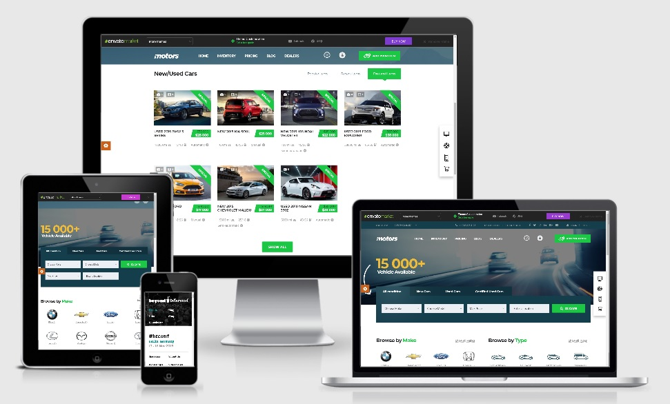 MOTORS V4.5 – Theme WordPress