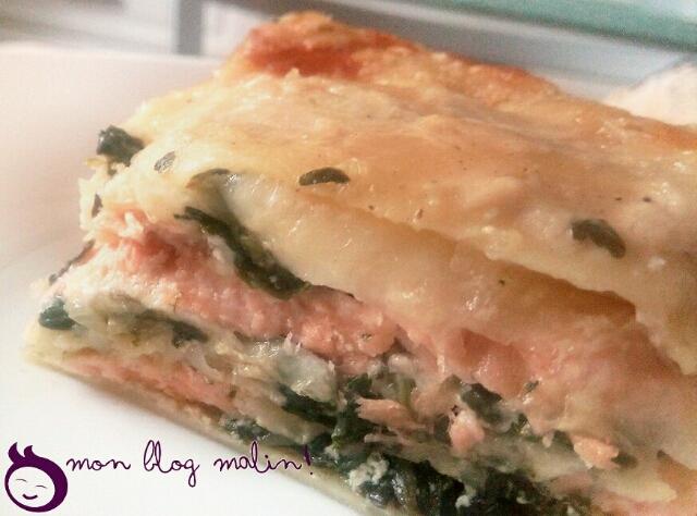 Recette de grand-mère, les lasagnes au saumon