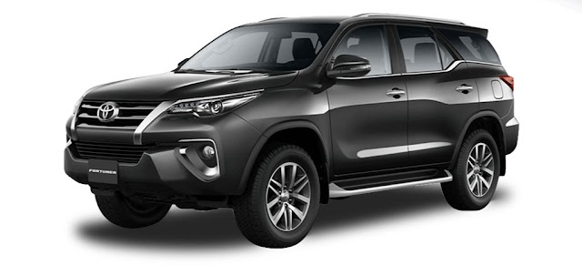 Toyota FORTUNER Pricelist - As of January 2019 (Luzon - Philippines)