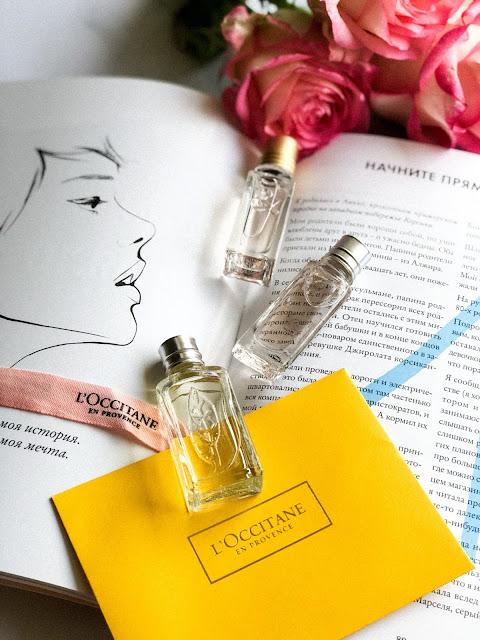 Моя мини коллекция ароматов L'Occitane Люмьер
