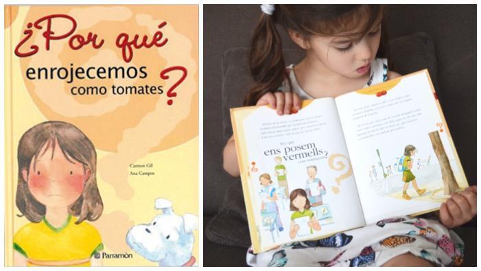 cuentos libros infantiles superar vencer timidez ¿por qué enrojecemos como tomates?