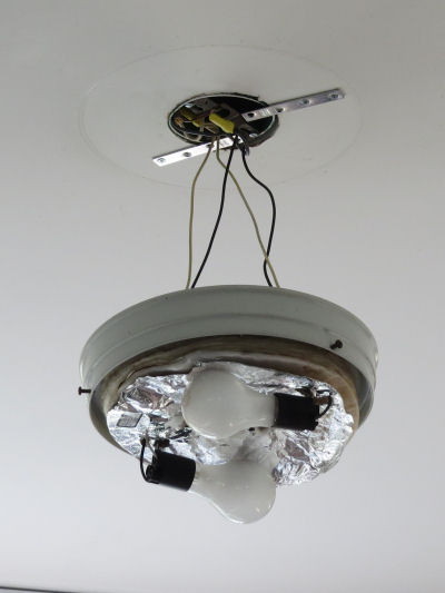 light fixture repair