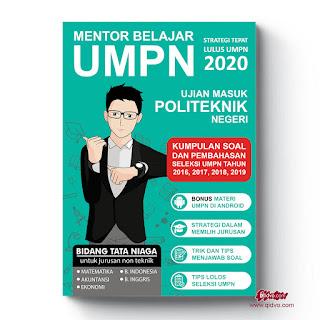 Buku Kumpulan Soal UMPN Tata Niaga dan Pembahasannya | Tahun 2020