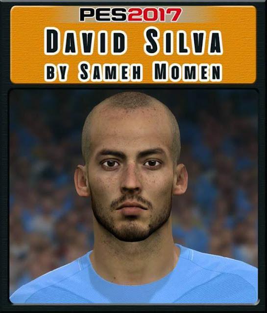 David Silva Face PES 2017