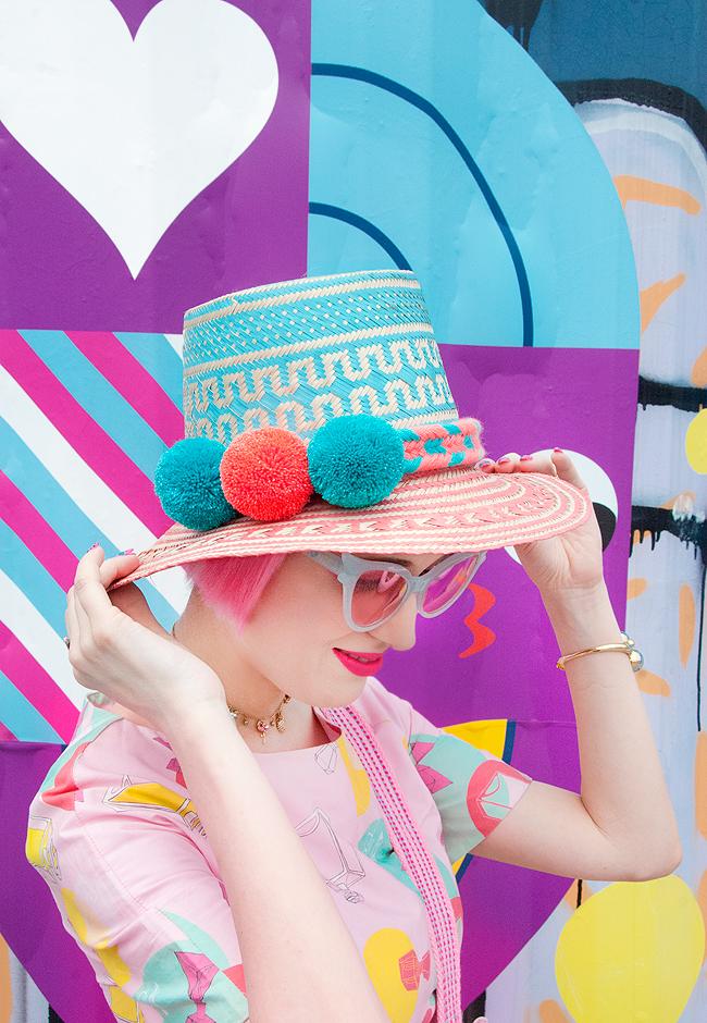 Wayuu hat, ethical fashion, summer style