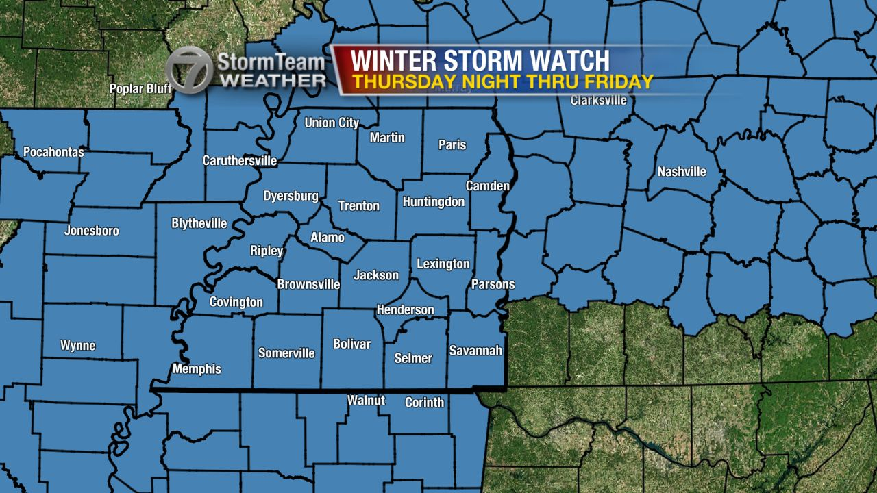 Significant Snow Possible Friday - WBBJ TV