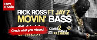 Rick Ross Ft. Jay Z – Movin Bass