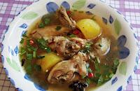 Resepi Sup Ayam Simple