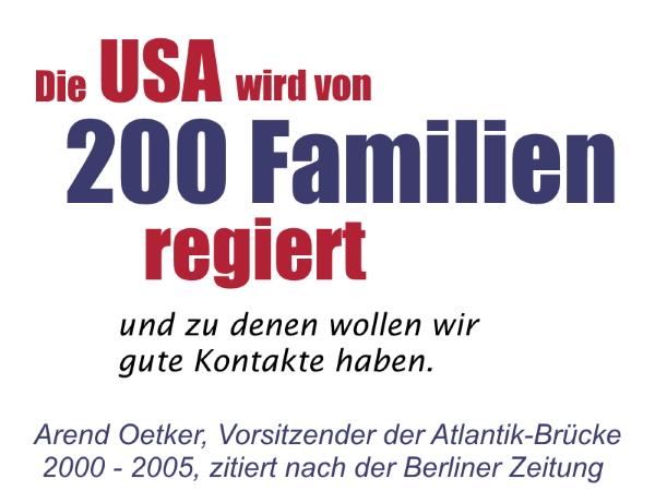 USA, Oligarchie, Demokratie, Elite, Establishment, undemokratisch, Macht, ungleich, Politik, Arend Oetker, Atlantik-Brücke