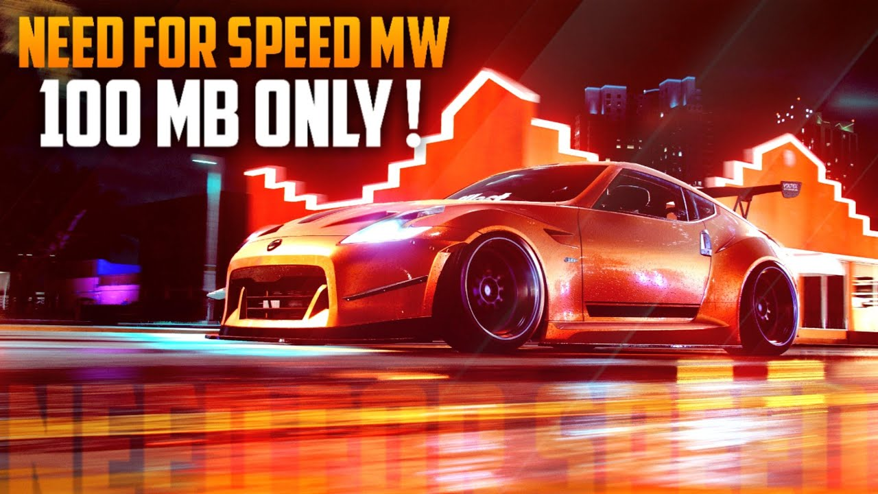 100 MB Need For Speed Most Wanted Download For PC