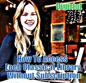 how to read Loeb Classical Library books online without subscription
