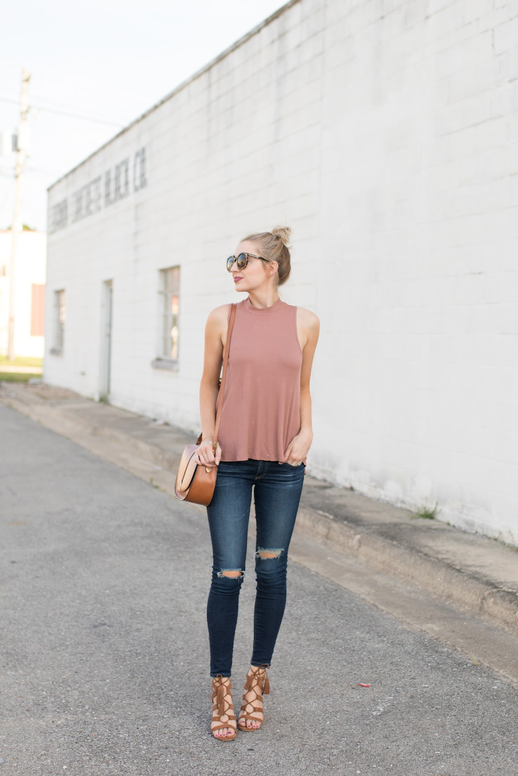 Casual summer date night outfit