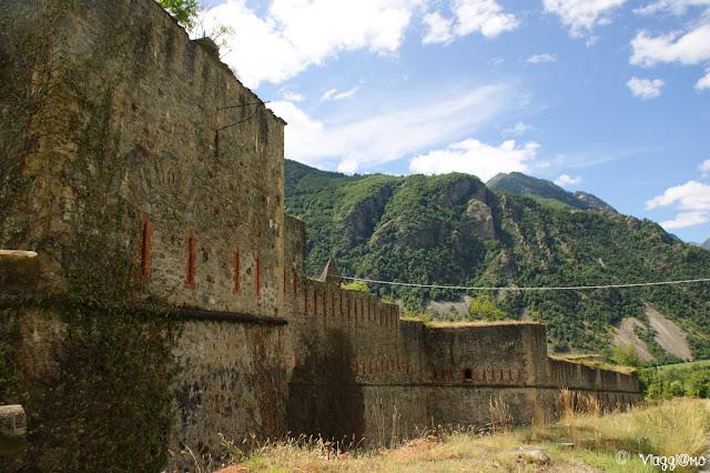 Porzione del Forte Albertino di Vinadio