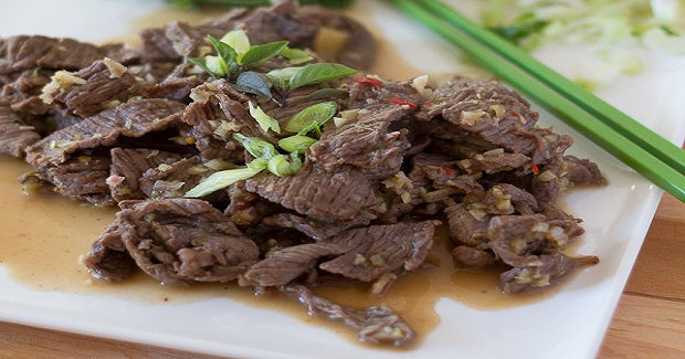 Beef In Lime And Lemongrass Marinade Recipe